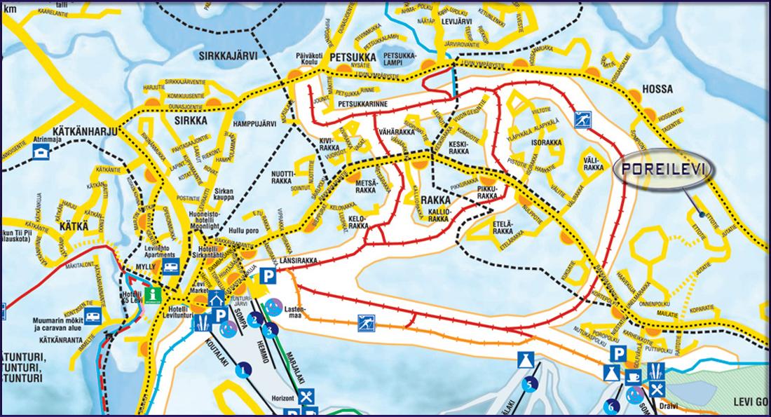 Kartta Levin Kartta